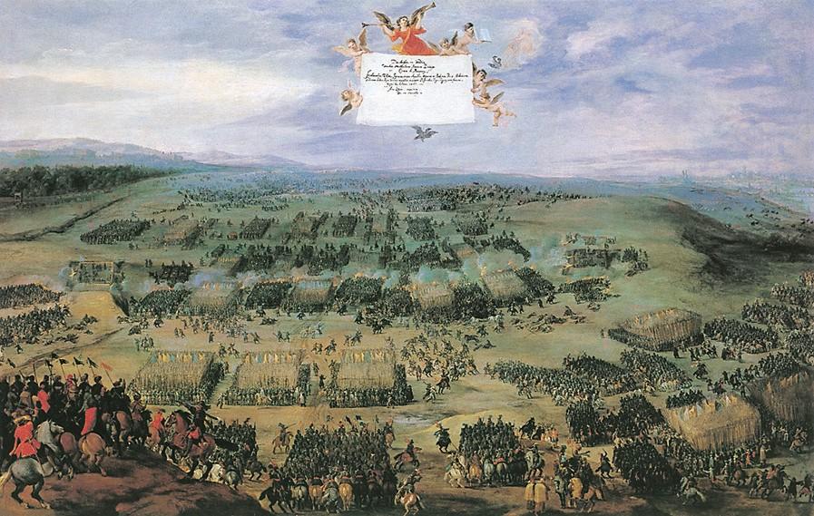 白山の戦い(1620年)