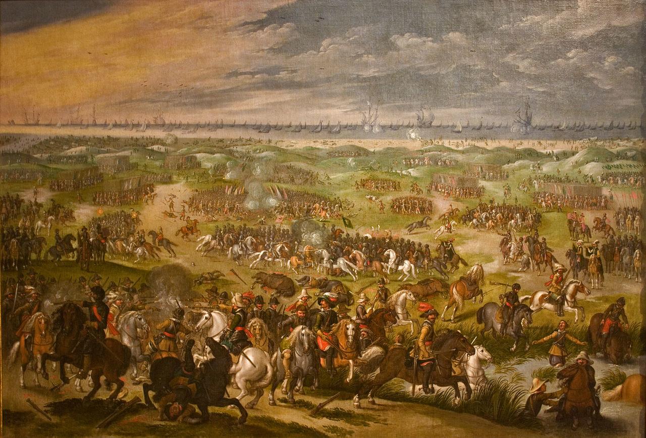 1640年頃の戦闘状況を描いたもの。セバスチャン・ヴランクス。
