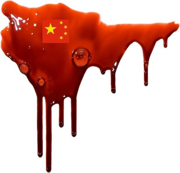 失血死する中華人民共和国