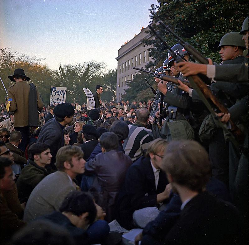 米国のベトナム反戦運動(1967年)