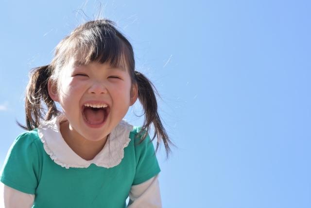 子ども 笑う