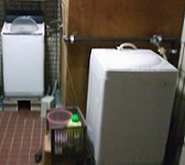 那覇。洗濯機は無料