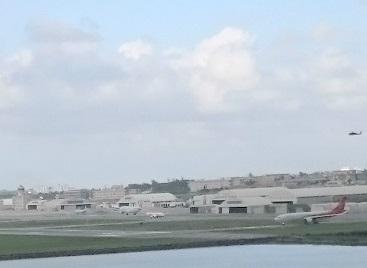 那覇空港滑走路