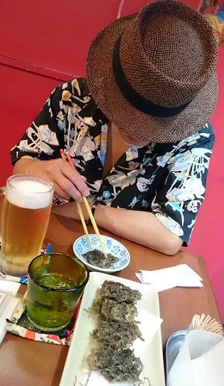 モズク天ぷら