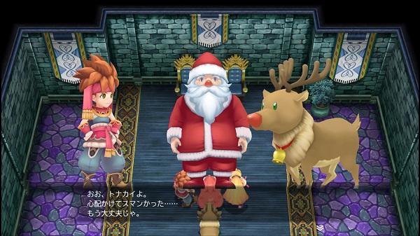 PS4 聖剣伝説2 SECRETofMANA シークレットオブマナ プレイ日記 マタンゴ王国 サンタ 皇帝