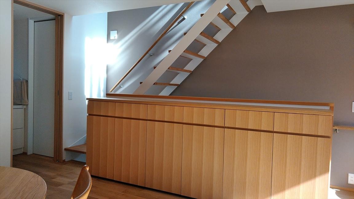 階段の採光