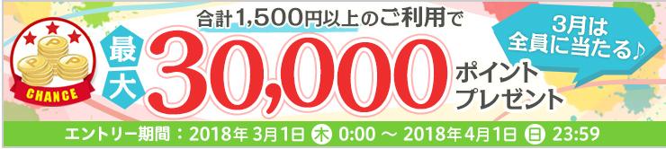 3万ポイント