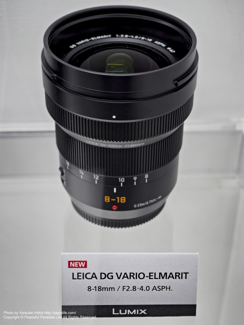 LEICA DG VARIO-ELMARIT 8-18mm / F2.8-4.0 ASPH.