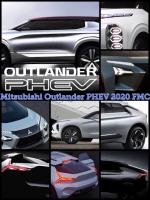 次期アウトランダーPHEV FMC 全面改良 2020 Mitsubishi Outlander PHEV 2020