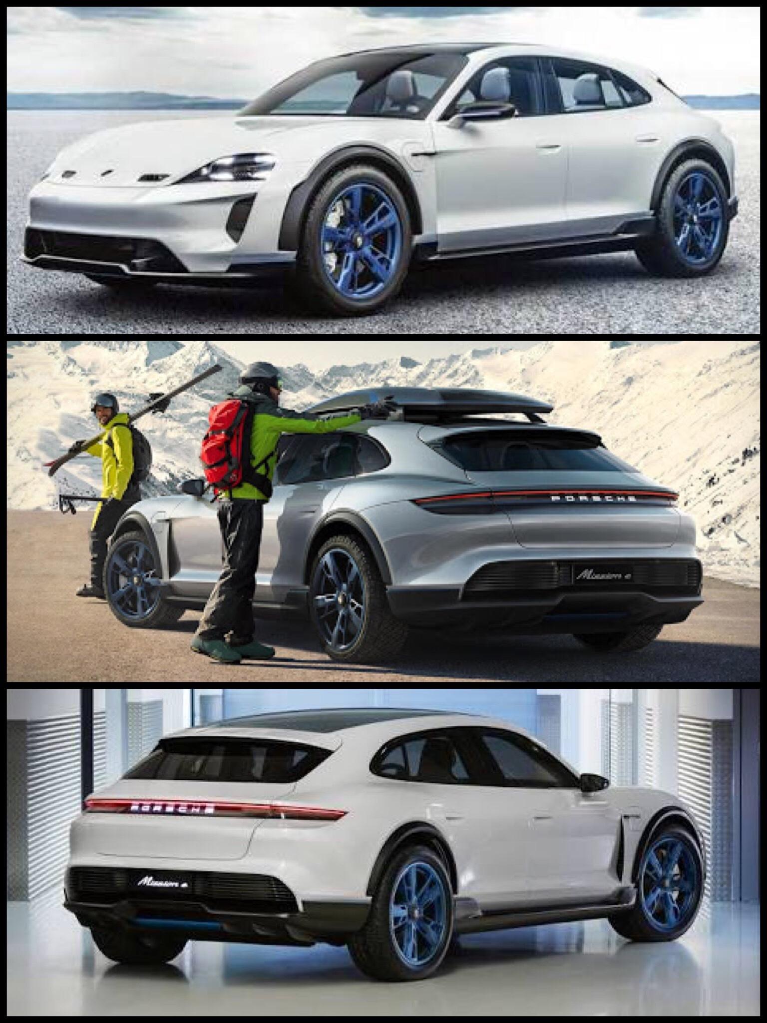 Porsche Mission E Cross Turismo concept ポルシェ ミッションE クロスツーリスモ
