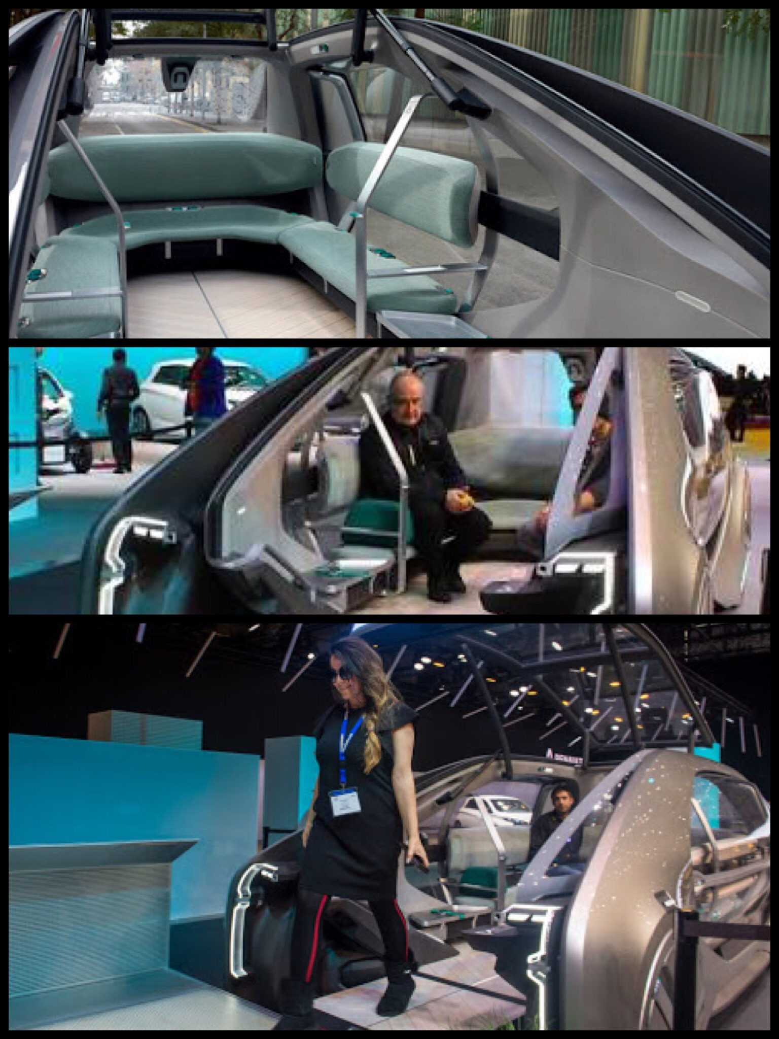 Renault EZ-GO Concept ルノー イージーゴー 完全自動運転タクシー