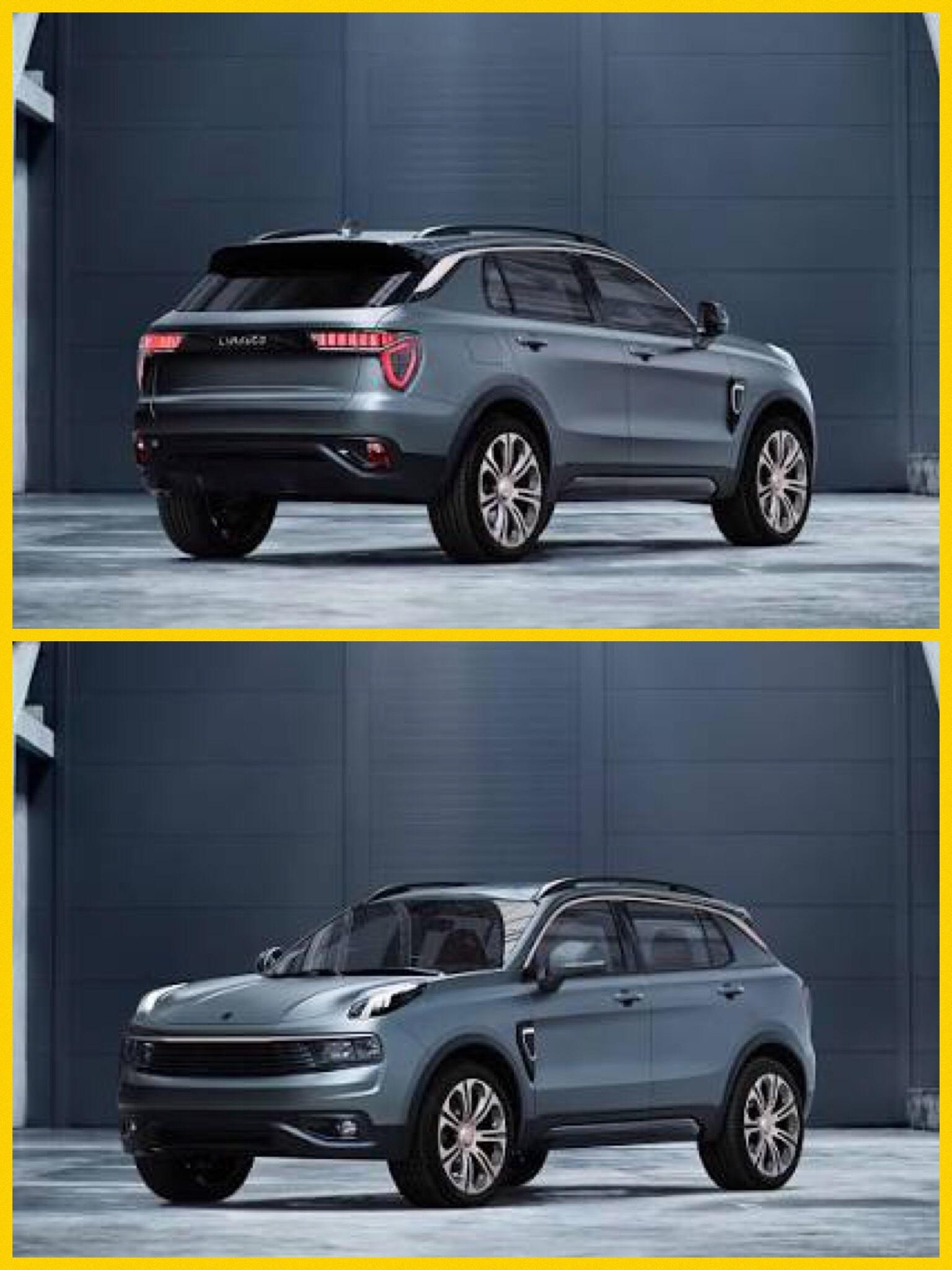 吉利汽車 EV新ブランド lync&co ボルボベース