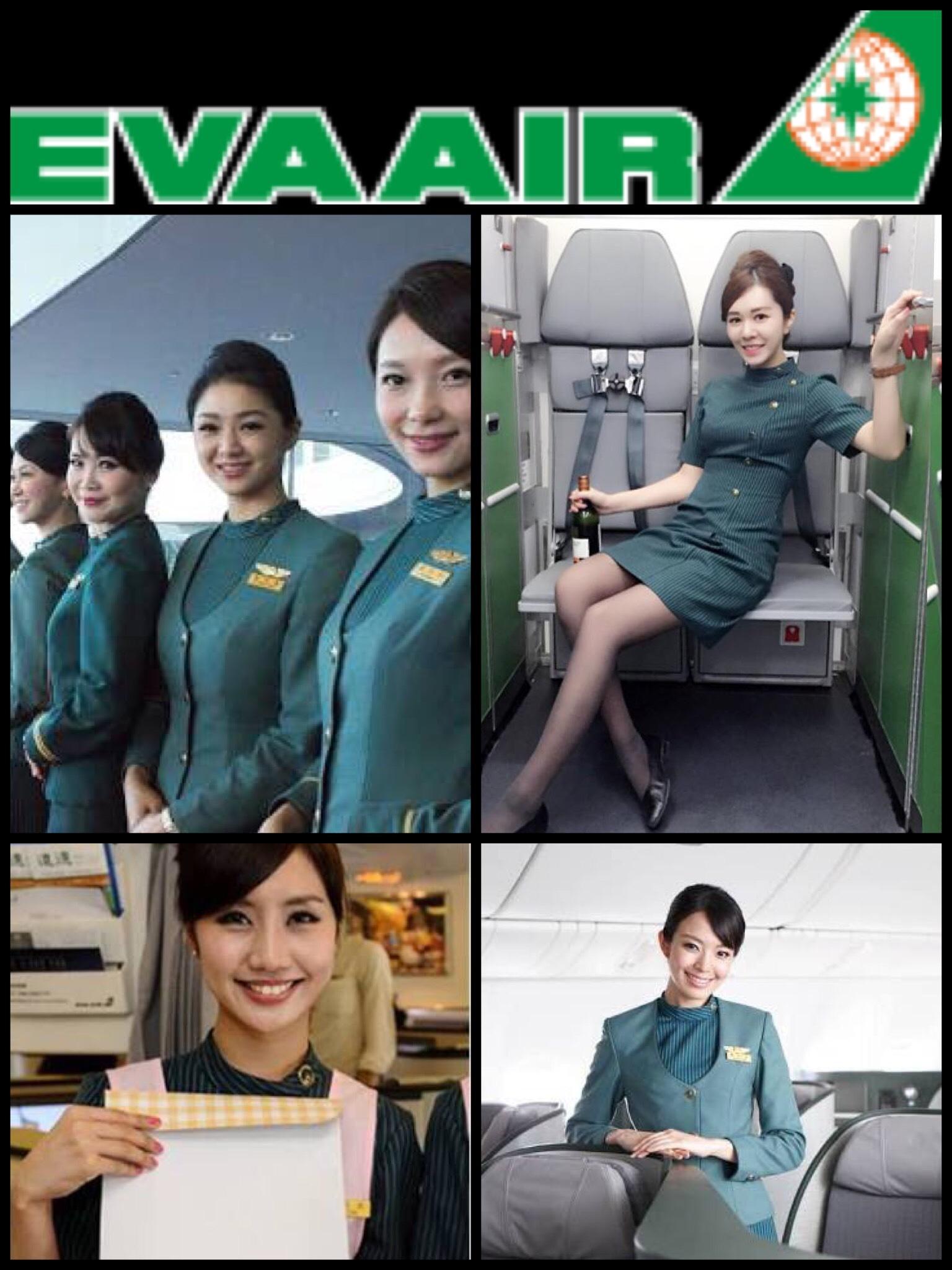 台湾エバー航空 スチュワーデス