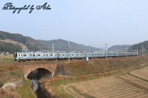 鹿児島本線にて
