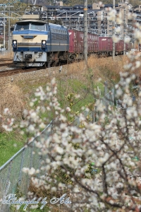 5071レ(=EF66-27牽引)