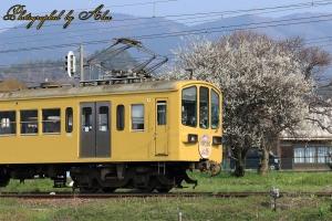 近江鉄道にて