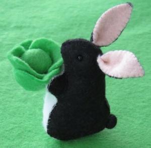 菜っ葉ウサギ
