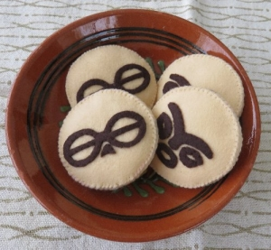 土偶クッキー