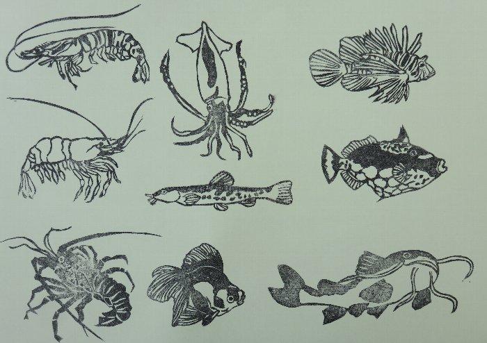 魚ハンコ2
