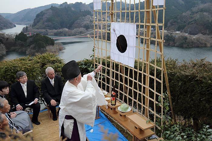 桃香野八幡神社 弓始祭1