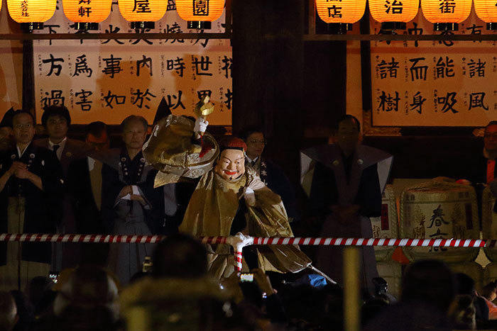 興福寺 追儺会2