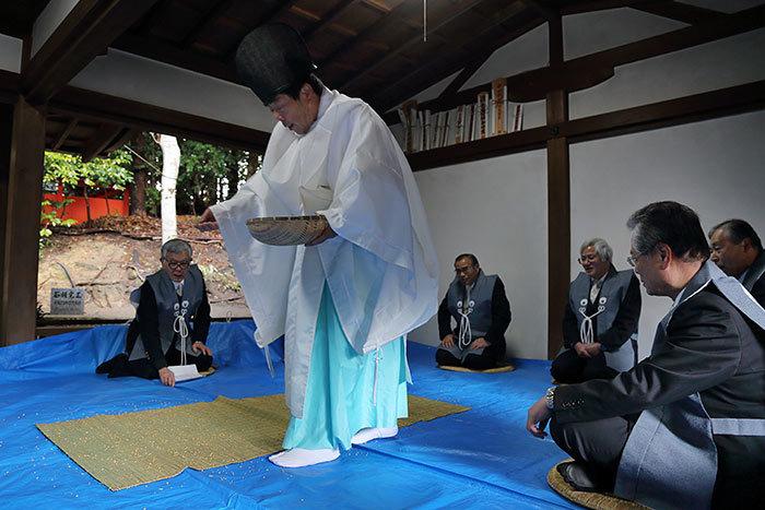 中山八幡神社 おんだ祭1