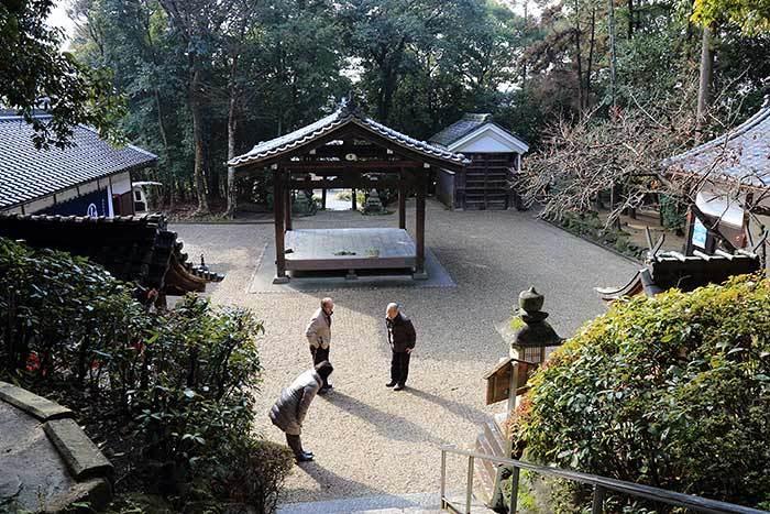 中山八幡神社 おんだ祭4