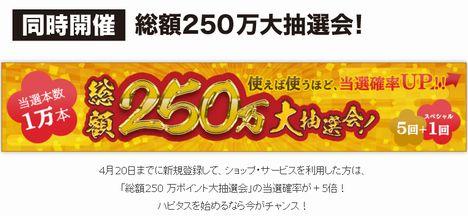 ハピタス紹介de1,000ポイントプレゼントキャンペーン02