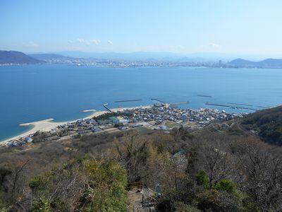 女木島鷲ヶ峰展望台1