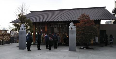 神楽坂 赤城神社