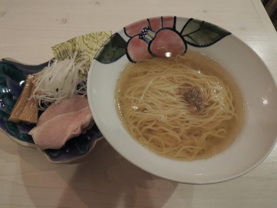 のどぐろ煮干しらーめん(塩ベース)(780円)