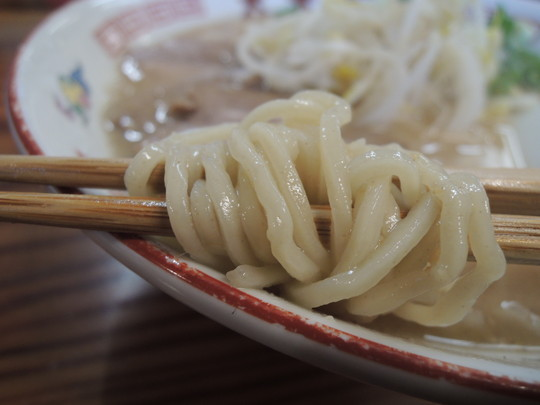 らーめん中の麺