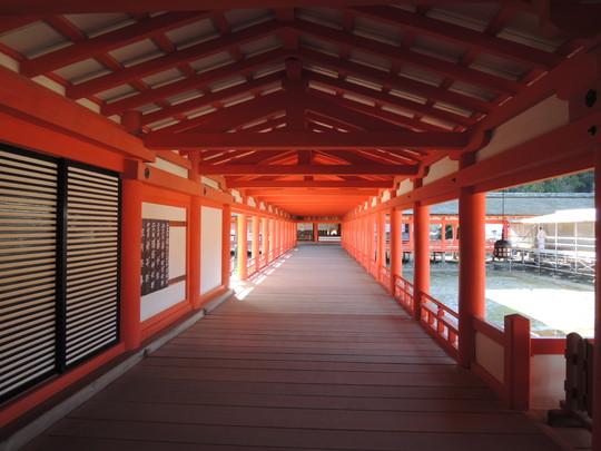 厳島神社(東廻廊)