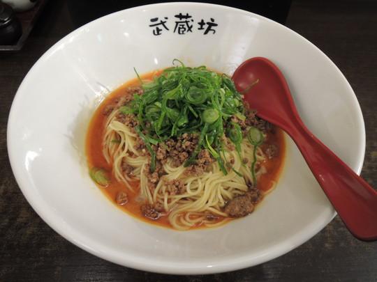 担担麺(濃厚胡麻)2辛(600円)