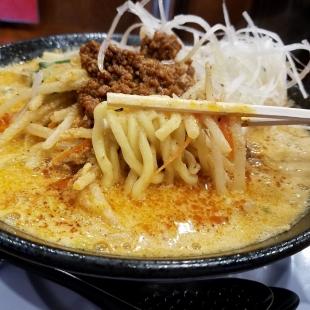 かずを ゴマ担々麺 麺スープ