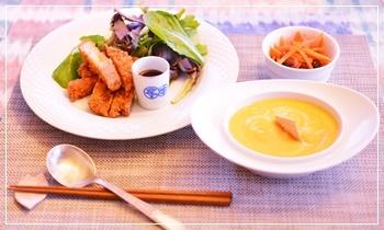 薩摩芋のポタージュ