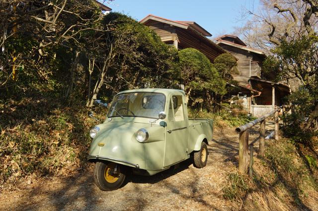 鎌田鳥山とミゼット