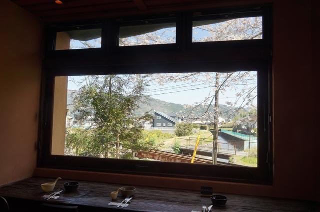 食堂カフェ樵 窓辺