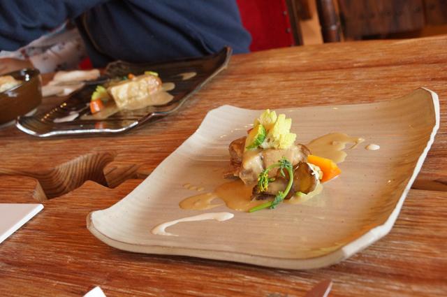 食堂カフェ樵 今日のランチのメイン 肉