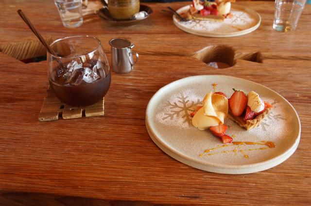食堂カフェ樵 デザートとコヒー