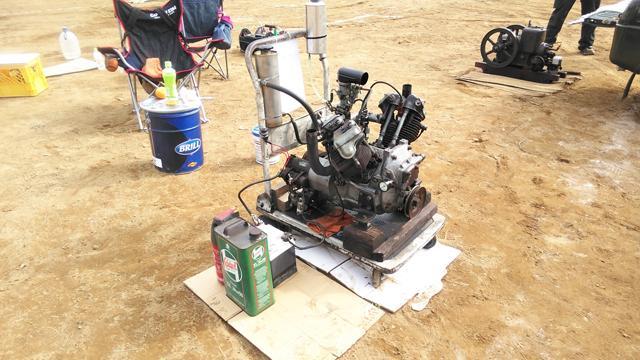 マツダT600用のV2、OHV空冷エンジン