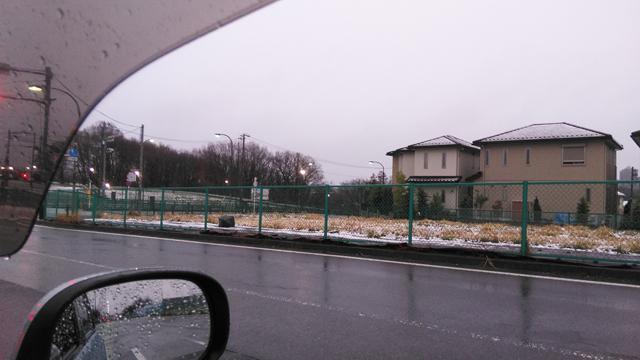 3月22日の雪