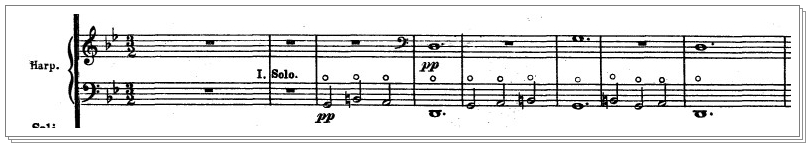 第4楽章のキンコンカンコンと、なーんで、こんなにロマンチックな感じなのに 『女子ウケ悪い説』が存在してるンだろーなー(´・ω・`)なハープの話♪