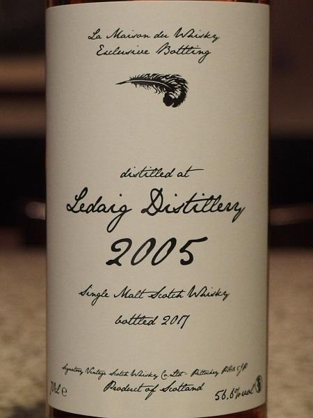 La Maison du Whisky LEDAIG 2005_L600