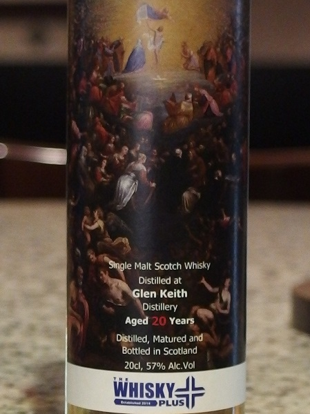 Whisky Plus GLEN KEITH 20yo_L600