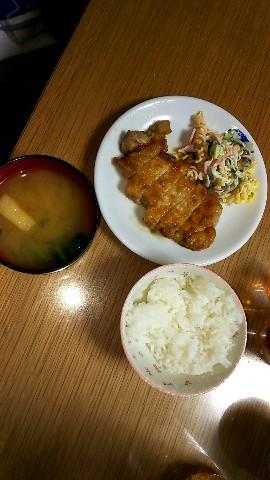 バレンタインの夕飯