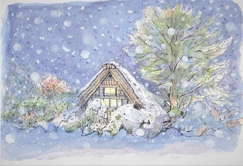 HP雪景色