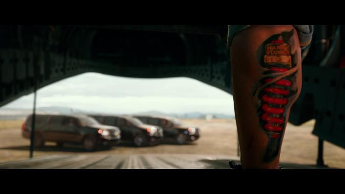 xxxroxc-calf tattoo