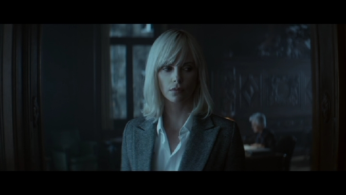 ab-Charlize Theron in office