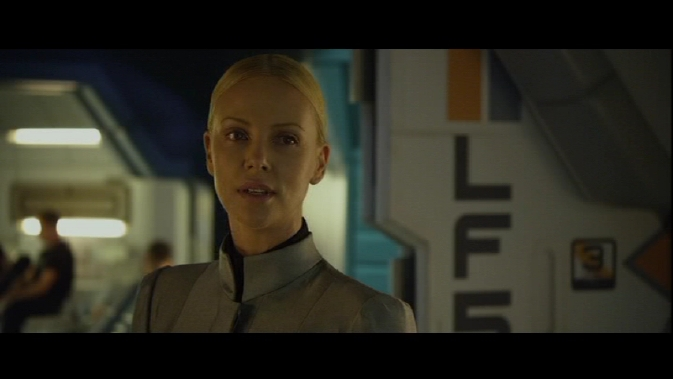 prometheus-Charlize Theron as Vickers